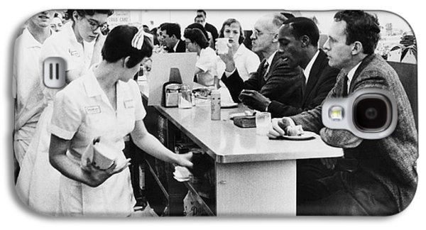 Sit-ins Galaxy S4 Cases - Lunch Counter Sit-in, 1960 Galaxy S4 Case by Granger
