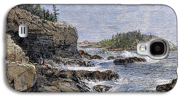 Devils Den Galaxy S4 Cases - Maine: Mount Desert Island Galaxy S4 Case by Granger