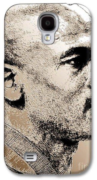 Endorsement Galaxy S4 Cases - Michael Jordan in 1990 Galaxy S4 Case by J McCombie