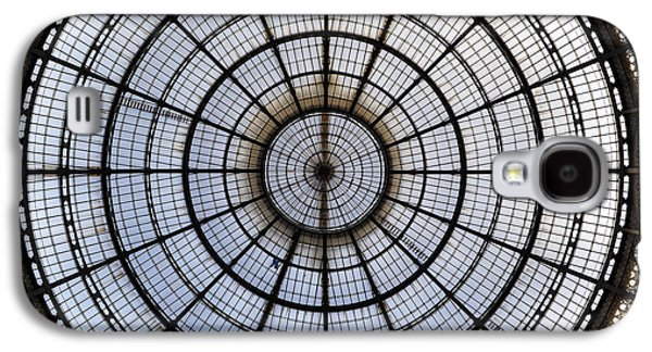 Glass Wall Galaxy S4 Cases - Milan Galleria Vittorio Emanuele II Galaxy S4 Case by Joana Kruse