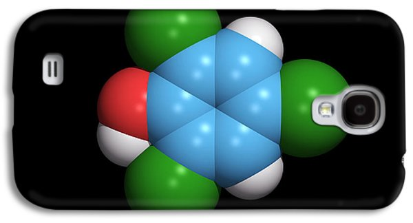 Component Galaxy S4 Cases - Molecule Of A Component Of Tcp Antiseptic Galaxy S4 Case by Dr Tim Evans