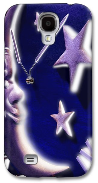 Moon Digital Galaxy S4 Cases - Moon Glow Galaxy S4 Case by Mike McGlothlen