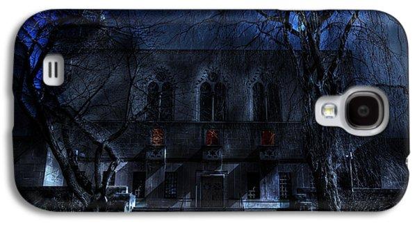 Creepy Digital Art Galaxy S4 Cases - Mysterious Zembo Shrine Galaxy S4 Case by Shelley Neff