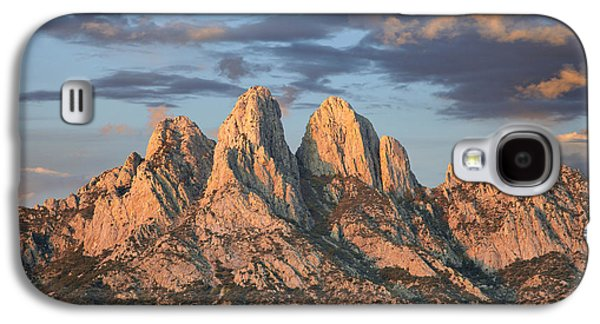 Mountain Photographs Galaxy S4 Cases - Organ Mountains Near Las Cruces New Galaxy S4 Case by Tim Fitzharris