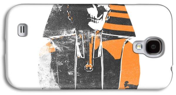 Pharaoh Galaxy S4 Cases - Pharaoh stencil  Galaxy S4 Case by Pixel  Chimp