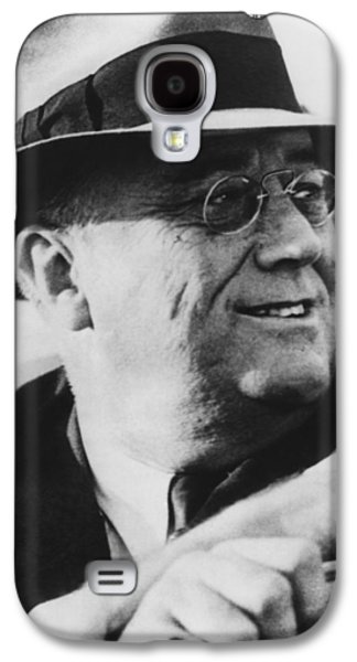 White House Galaxy S4 Cases - President Franklin Roosevelt Galaxy S4 Case by War Is Hell Store