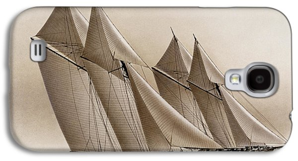 Tall Ship Galaxy S4 Cases - Racing Yachts Galaxy S4 Case by James Williamson