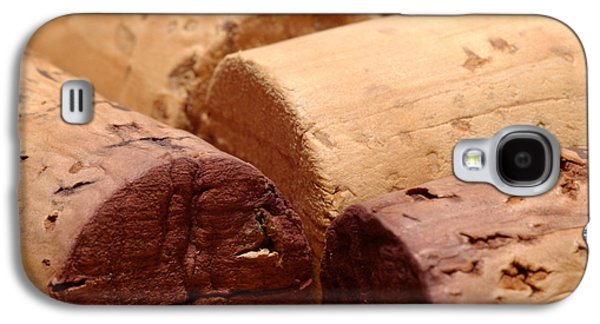 Wine Art Galaxy S4 Cases - Red Wine Corks Galaxy S4 Case by Frank Tschakert