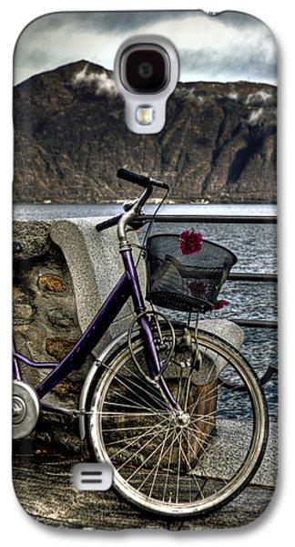 Bicycle Photographs Galaxy S4 Cases - Retro Bike Galaxy S4 Case by Joana Kruse