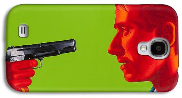 Tim Paintings Galaxy S4 Cases - Ringo Galaxy S4 Case by Ellen Patton