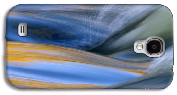 Outdoors Photographs Galaxy S4 Cases - River Galaxy S4 Case by Silke Magino