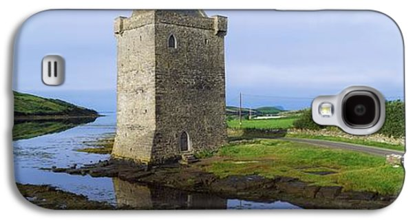 Irish Folklore Galaxy S4 Cases - Rockfleet Castle, Clew Bay, Co Mayo Galaxy S4 Case by The Irish Image Collection