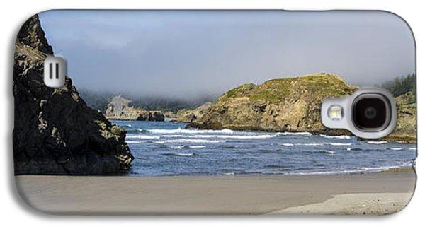 Waterscape Galaxy S4 Cases - Rocky Shore Galaxy S4 Case by Debra and Dave Vanderlaan