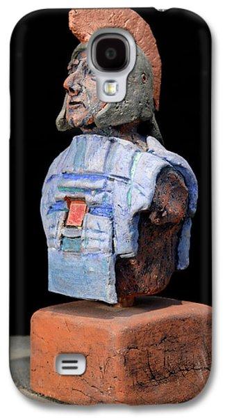 Ancient Ceramics Galaxy S4 Cases - Roman Legionaire - Warrior - ancient Rome - Roemer - Romeinen - Antichi Romani - Romains - Romarere Galaxy S4 Case by Urft Valley Art