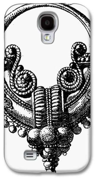 Gold Earrings Galaxy S4 Cases - Rome: Gold Earring Galaxy S4 Case by Granger