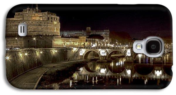 Night Angel Galaxy S4 Cases - Rome ponte san angelo Galaxy S4 Case by Joana Kruse