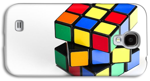Recently Sold -  - Fantasy Photographs Galaxy S4 Cases - Rubiks Cube Galaxy S4 Case by Photo Researchers