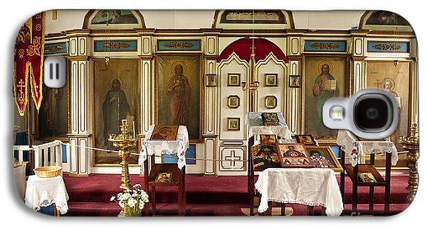 Russian Icon Galaxy S4 Cases - Russian Orthodox Church Galaxy S4 Case by John Greim
