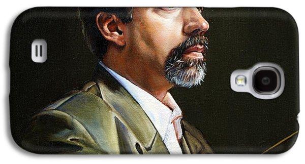 Self Portrait Galaxy S4 Cases - Self Portrait  Galaxy S4 Case by Patrick Anthony Pierson