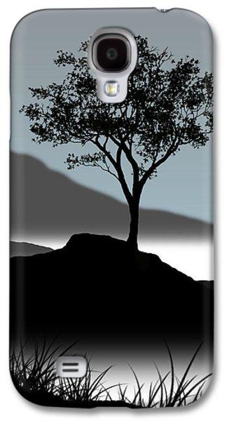Trees Galaxy S4 Cases - Serene Galaxy S4 Case by Chris Brannen