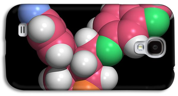 Antidepressant Galaxy S4 Cases - Seroxat (paroxetine) Molecule Galaxy S4 Case by Dr Tim Evans
