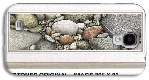 Nature Study Paintings Galaxy S4 Cases - Shore Stones Galaxy S4 Case by JQ Licensing