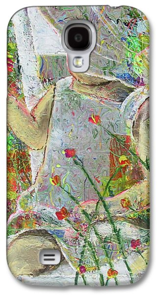 Living With Joy Galaxy S4 Cases - Sitting A Spell... Galaxy S4 Case by Jacqueline Athmann