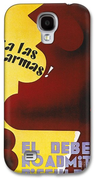 Republican Party Galaxy S4 Cases - Spanish Civil War, 1937 Galaxy S4 Case by Granger