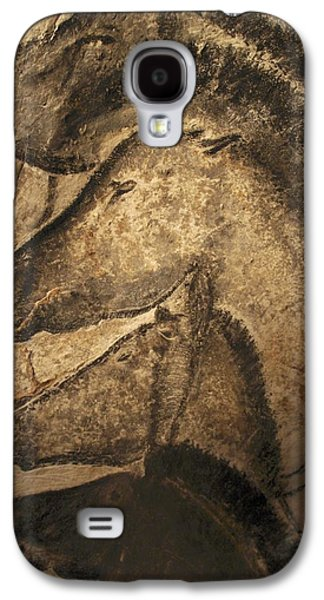 Ancient Galaxy S4 Cases - Stone-age Cave Paintings, Chauvet, France Galaxy S4 Case by Javier Truebamsf