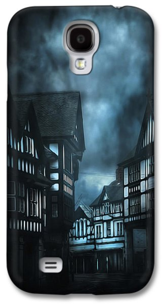 Nature Scene Mixed Media Galaxy S4 Cases - Storm is coming Galaxy S4 Case by Svetlana Sewell