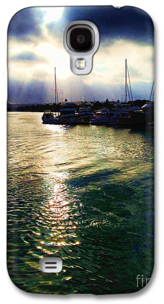 Boaters Galaxy S4 Cases - Stormy Skies Galaxy S4 Case by Cheryl Young