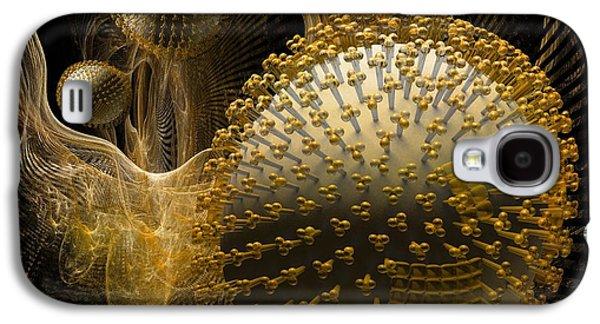 Pathogen Galaxy S4 Cases - Swine Flu Infection, Conceptual Image Galaxy S4 Case by Laguna Design