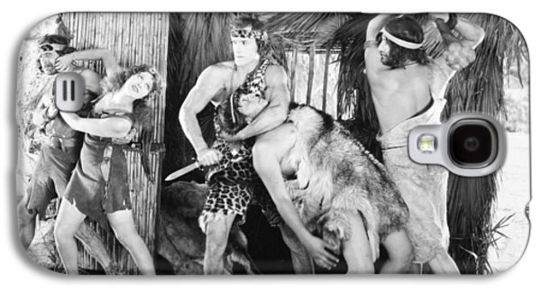 Landmarks Photographs Galaxy S4 Cases - Tarzan The Mighty, 1928 Galaxy S4 Case by Granger