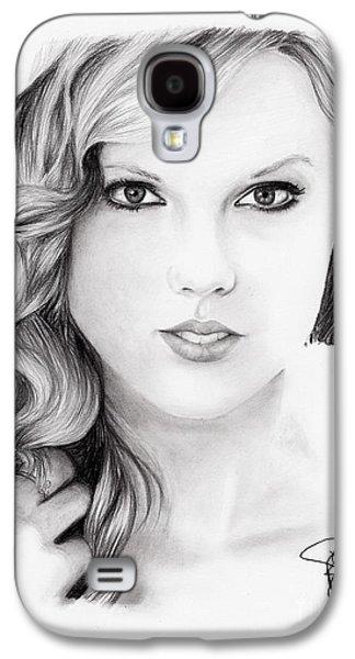 Taylor Swift Galaxy S4 Cases - Taylor Swift 2 Galaxy S4 Case by Rosalinda Markle