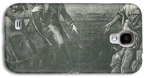 Antislavery Galaxy S4 Cases - The Capture Of Margaret Garner Galaxy S4 Case by Photo Researchers