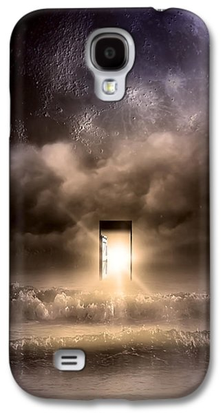 Moonscape Galaxy S4 Cases - The Door Galaxy S4 Case by Svetlana Sewell