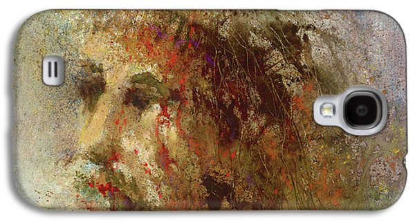 Religious Paintings Galaxy S4 Cases - The Lamb Galaxy S4 Case by Andrew King