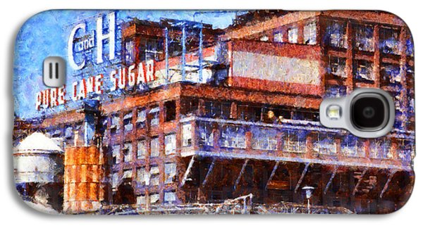Old Town Digital Art Galaxy S4 Cases - The Old C and H Pure Cane Sugar Plant in Crockett California . 5D16769 Galaxy S4 Case by Wingsdomain Art and Photography