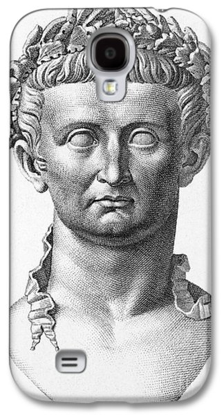 Statue Portrait Galaxy S4 Cases - Tiberius (42 B.c.- 37 A.d.) Galaxy S4 Case by Granger