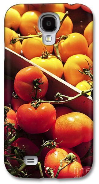 Tomatoes On The Market Galaxy S4 Case by Elena Elisseeva