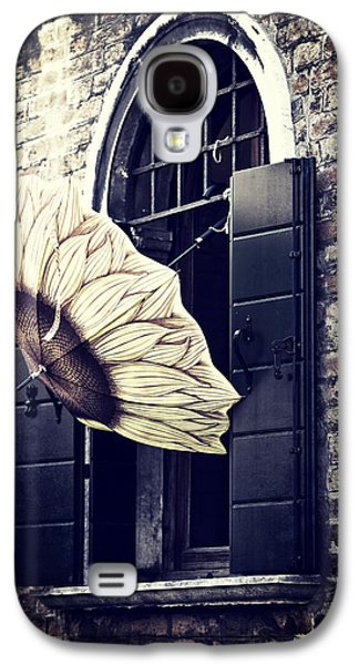 Flower Design Photographs Galaxy S4 Cases - Umbrella Galaxy S4 Case by Joana Kruse