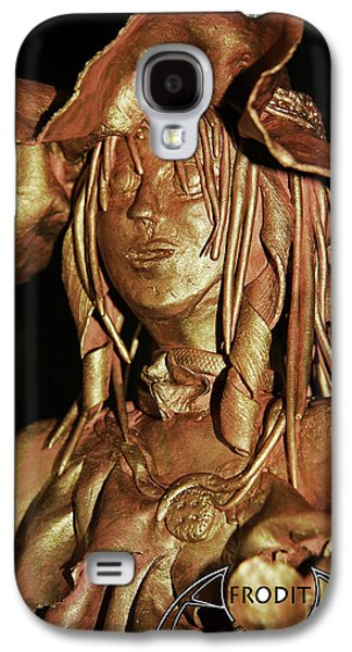 Girl Sculptures Galaxy S4 Cases - Veronica Galaxy S4 Case by Afrodita Ellerman