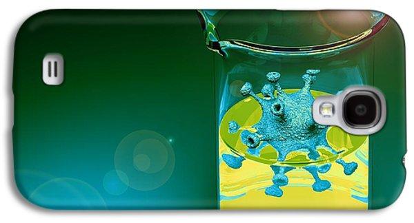 Pathogen Galaxy S4 Cases - Virus Research, Conceptual Image Galaxy S4 Case by Laguna Design