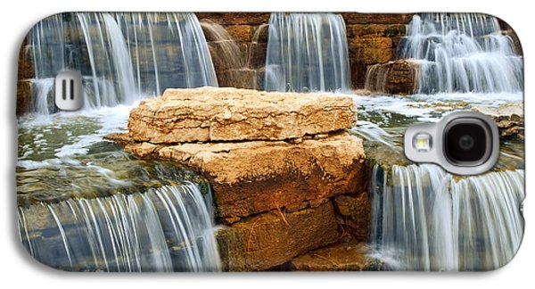Element Photographs Galaxy S4 Cases - Waterfall Galaxy S4 Case by Elena Elisseeva