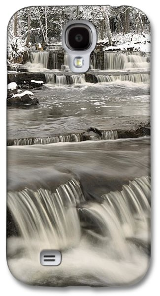 Design Pics - Galaxy S4 Cases - Waterfalls With Fresh Snow Thunder Bay Galaxy S4 Case by Susan Dykstra