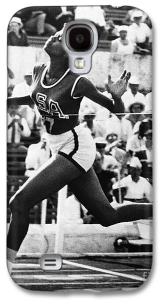 Olympian Galaxy S4 Cases - Wilma Rudolph (1940-1994) Galaxy S4 Case by Granger