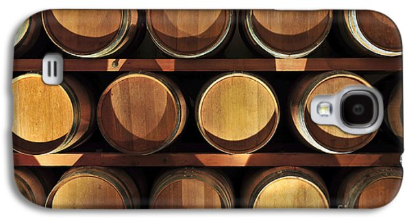Barrel Galaxy S4 Cases - Wine barrels Galaxy S4 Case by Elena Elisseeva