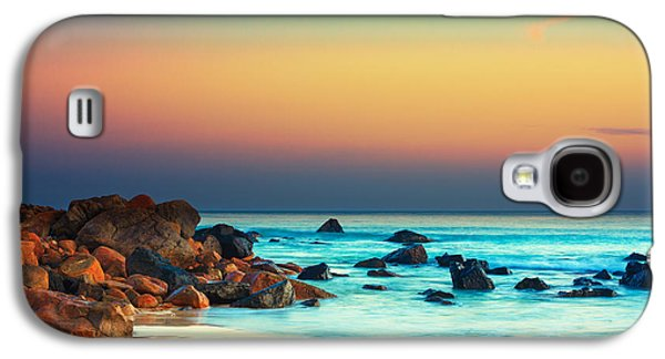 Beautiful Scenery Galaxy S4 Cases - Sunset Galaxy S4 Case by MotHaiBaPhoto Prints