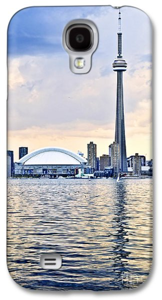 Architecture Photographs Galaxy S4 Cases - Toronto skyline Galaxy S4 Case by Elena Elisseeva