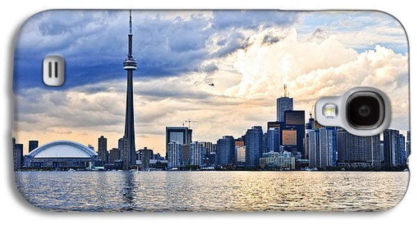 Business Galaxy S4 Cases - Toronto skyline Galaxy S4 Case by Elena Elisseeva